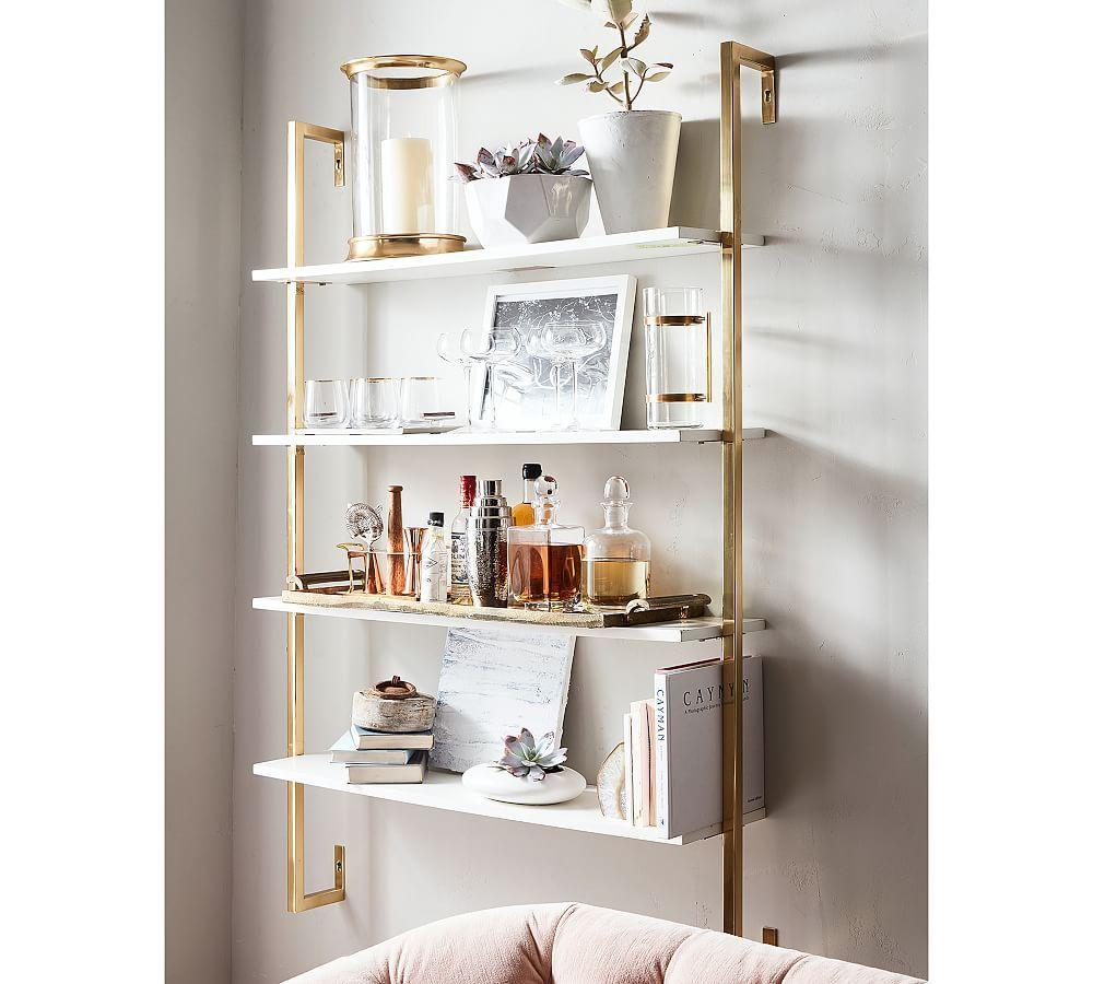 Olivia Wall Mounted Shelves En 2020 Idee Deco Salon