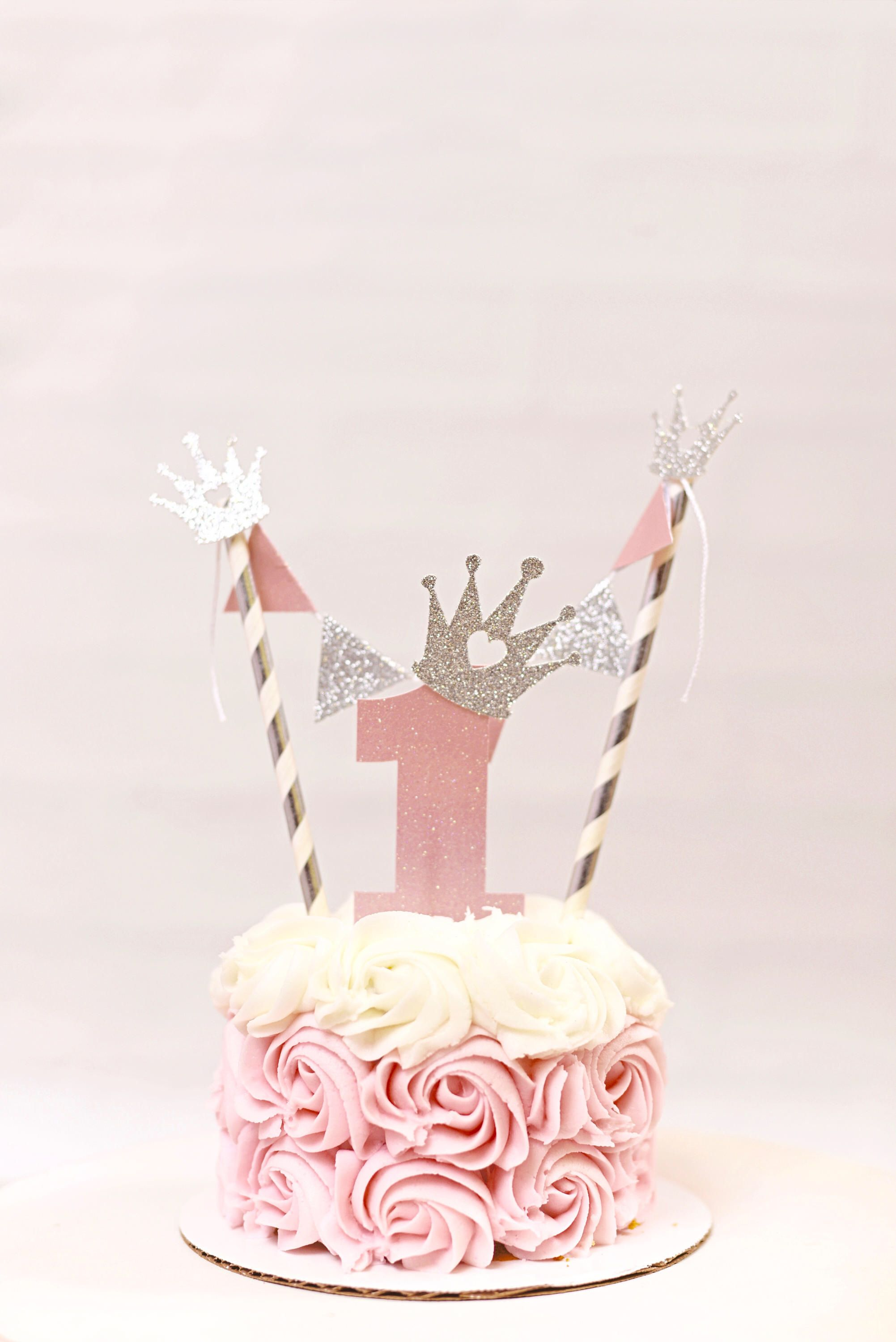 Princess Cake Topper Princess Party Smash Cake Topper Princess