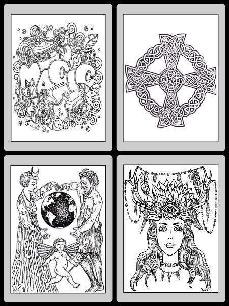 Book Of Shadows Download Printables Wicca Coloring Books Book Of Shadows Wiccan Books Coloring Books