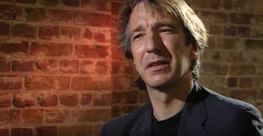 """Alan. Screenshot from """"Tango at the End of Winter"""" interview, 1991"""
