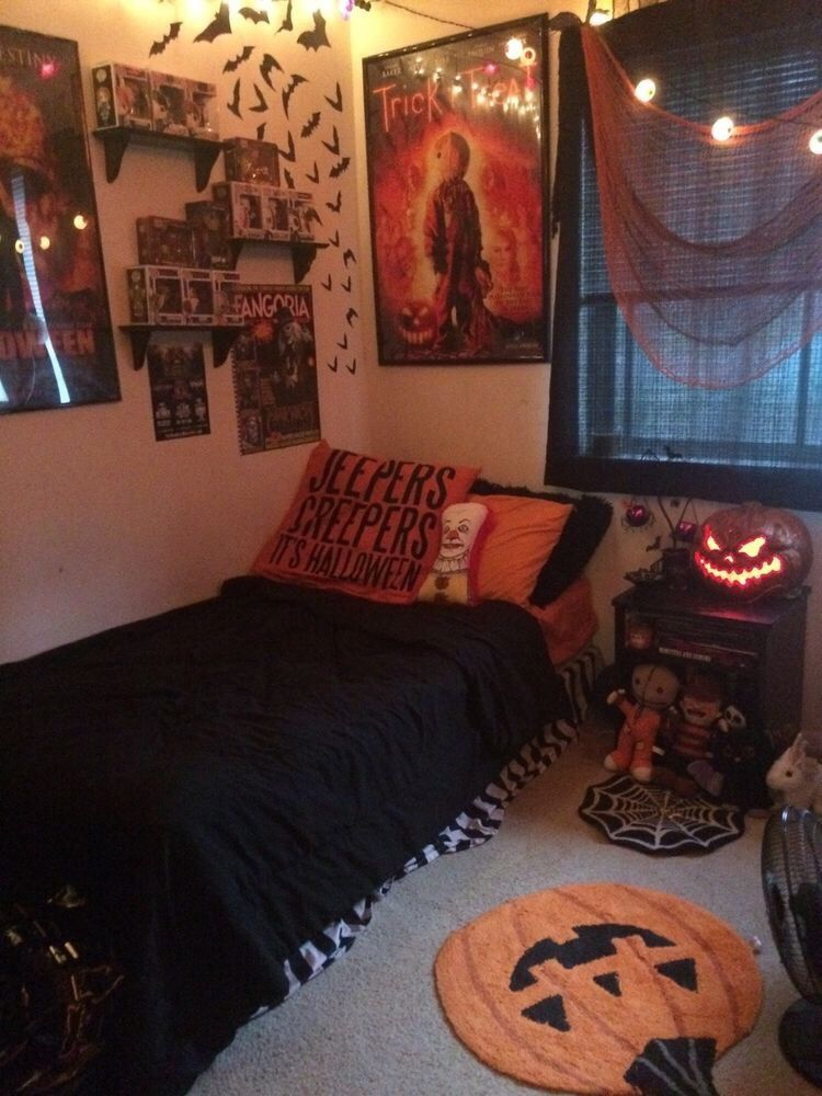 Halloween room decor ideas diy