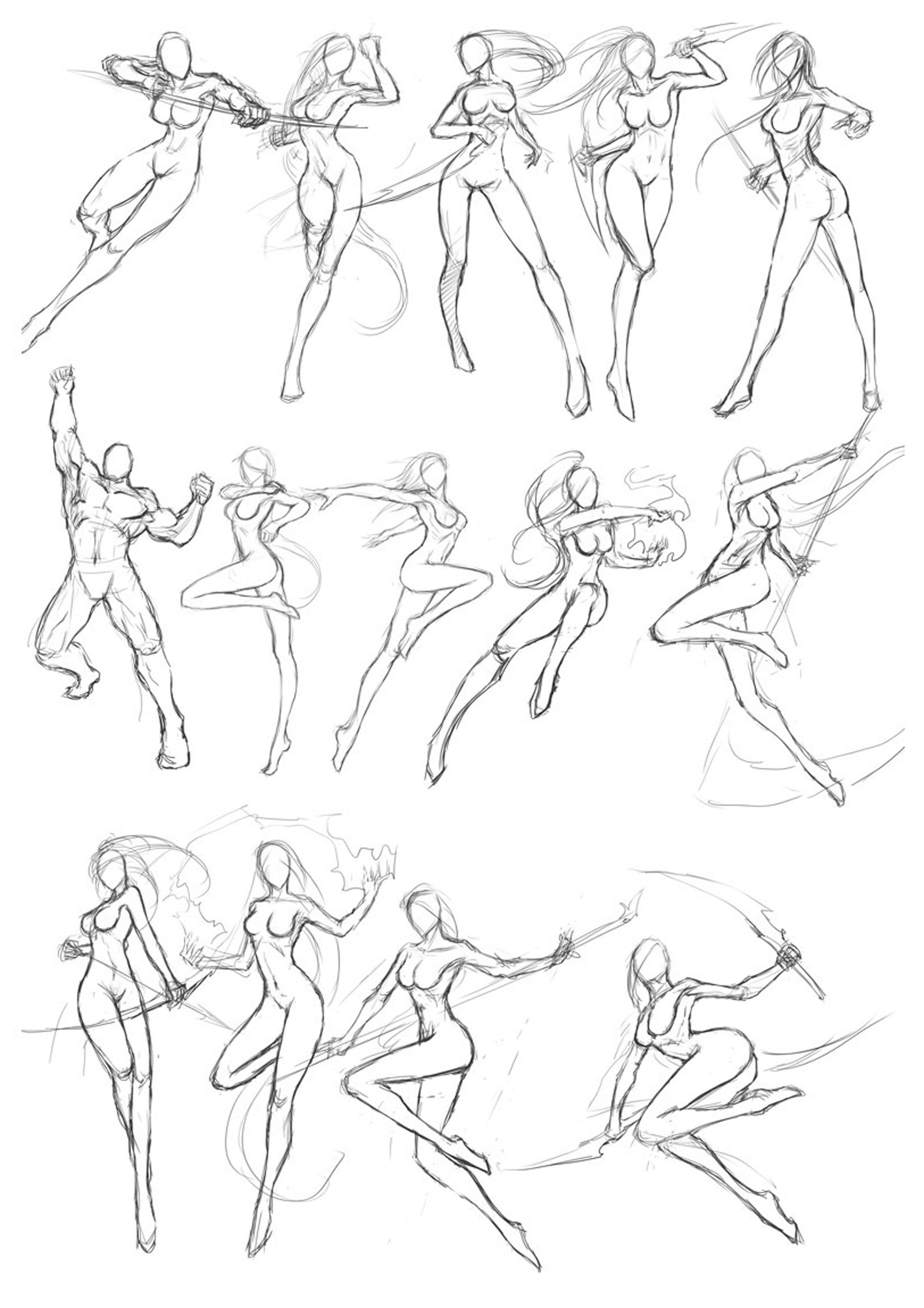 Martial Arts Posture