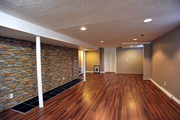 Low Ceiling Basement Ideas Combined With Glamorous Furniture And