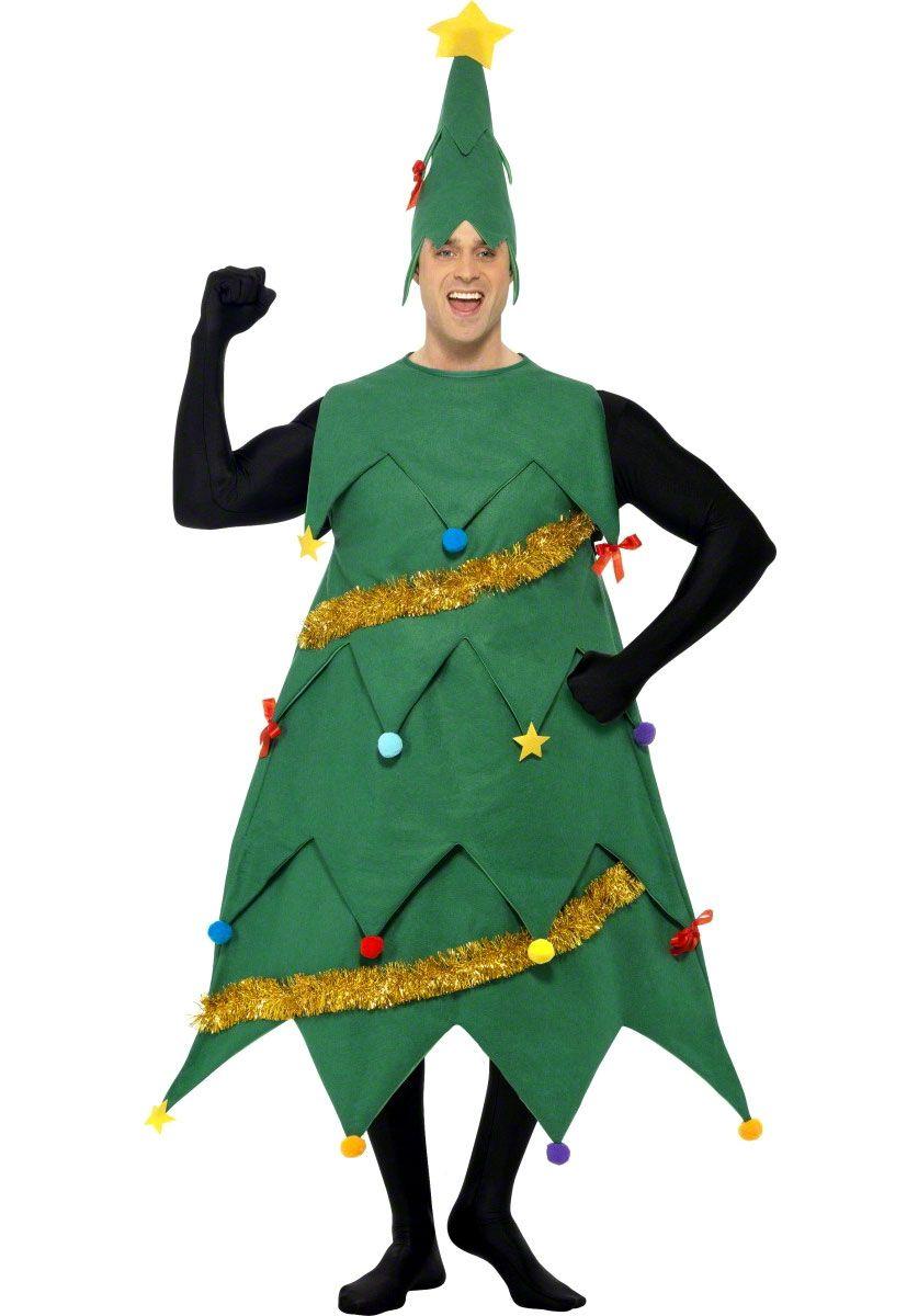 Christmas Tree Fancy Dress Costume | Girls | George at ASDA ...