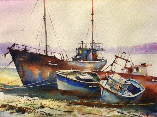Peintre Autodidacte Aquarelliste Du Pays Basque Depuis Fin 1998