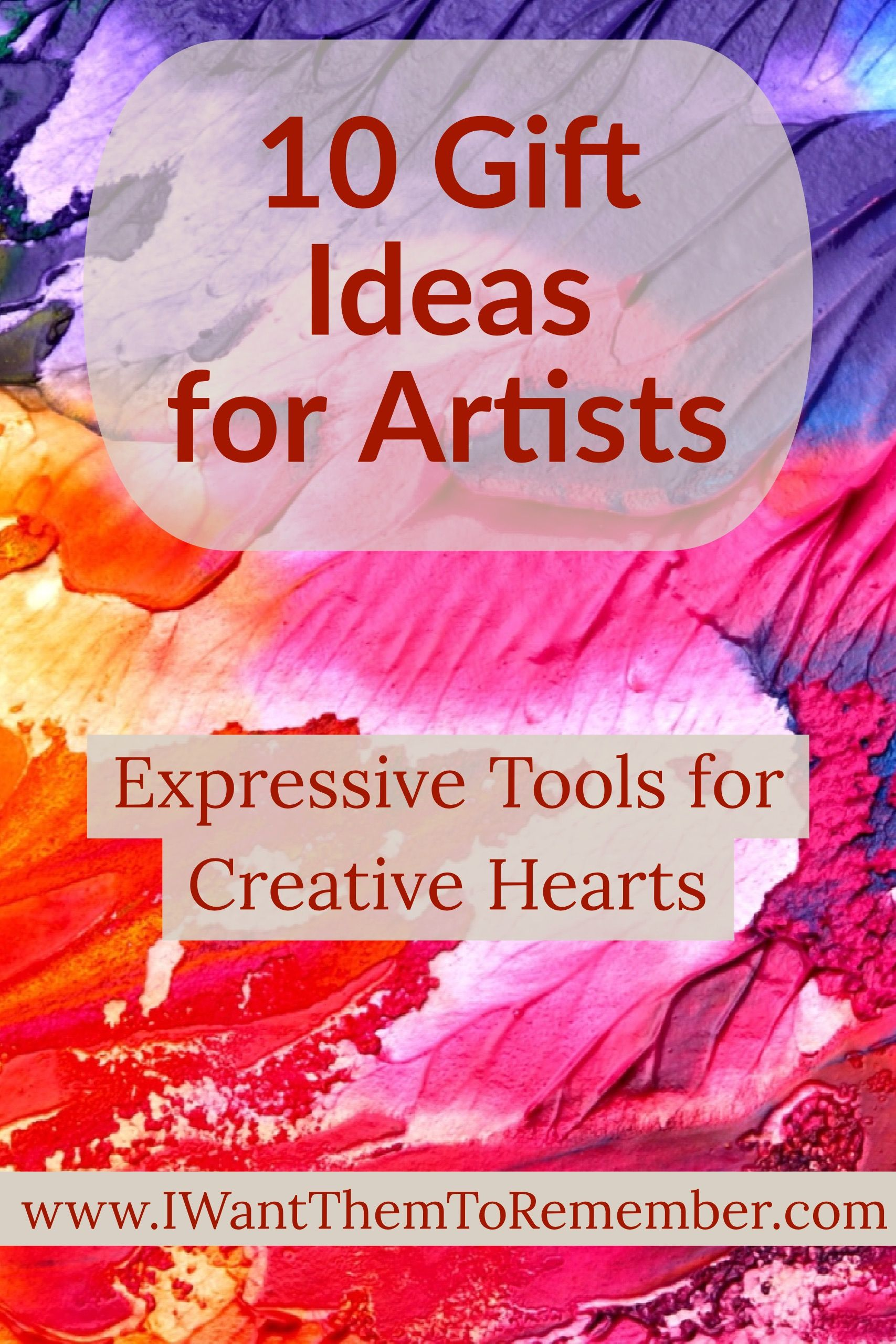 what is the best gift for an artist