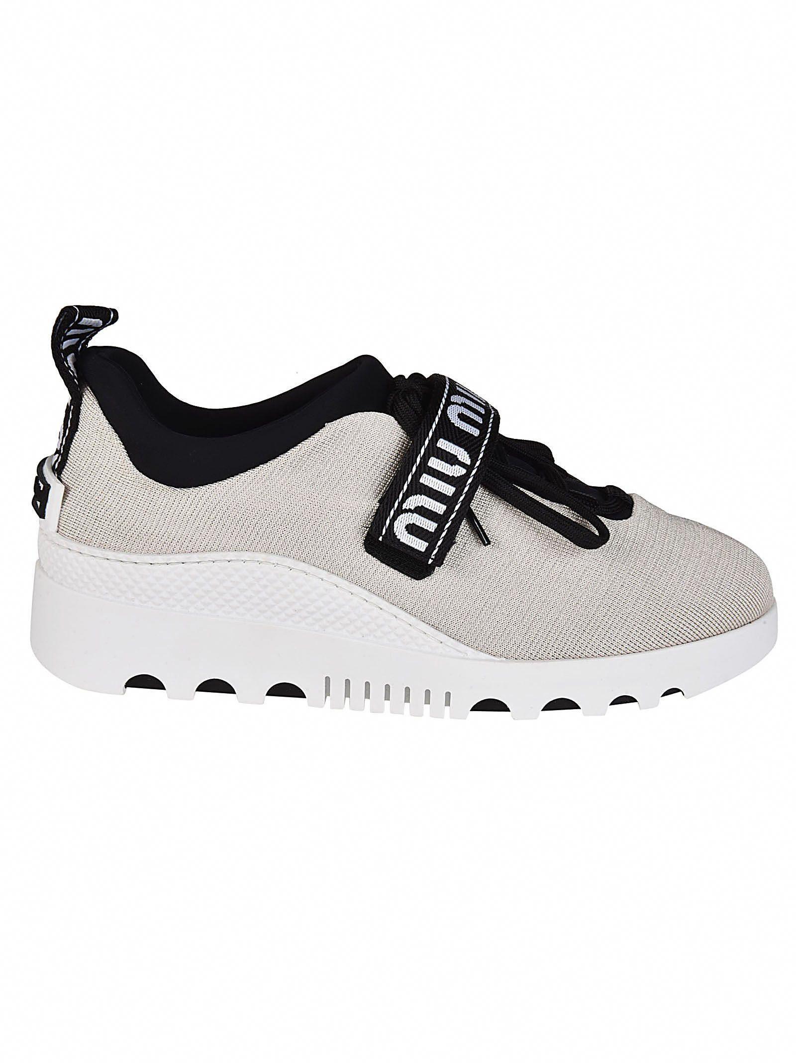 d8ddaa219dcc MIU MIU TOUCH STRAP SNEAKERS.  miumiu  shoes