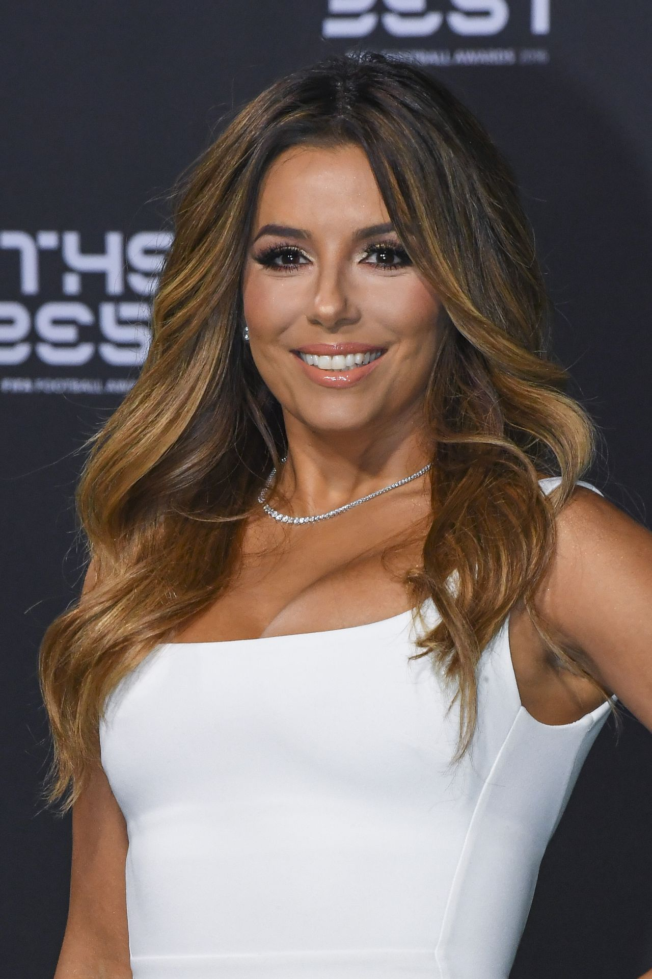 42-year-old Eva Longoria was wearing a sexy black suit for a photo shoot 02.08.2017 7