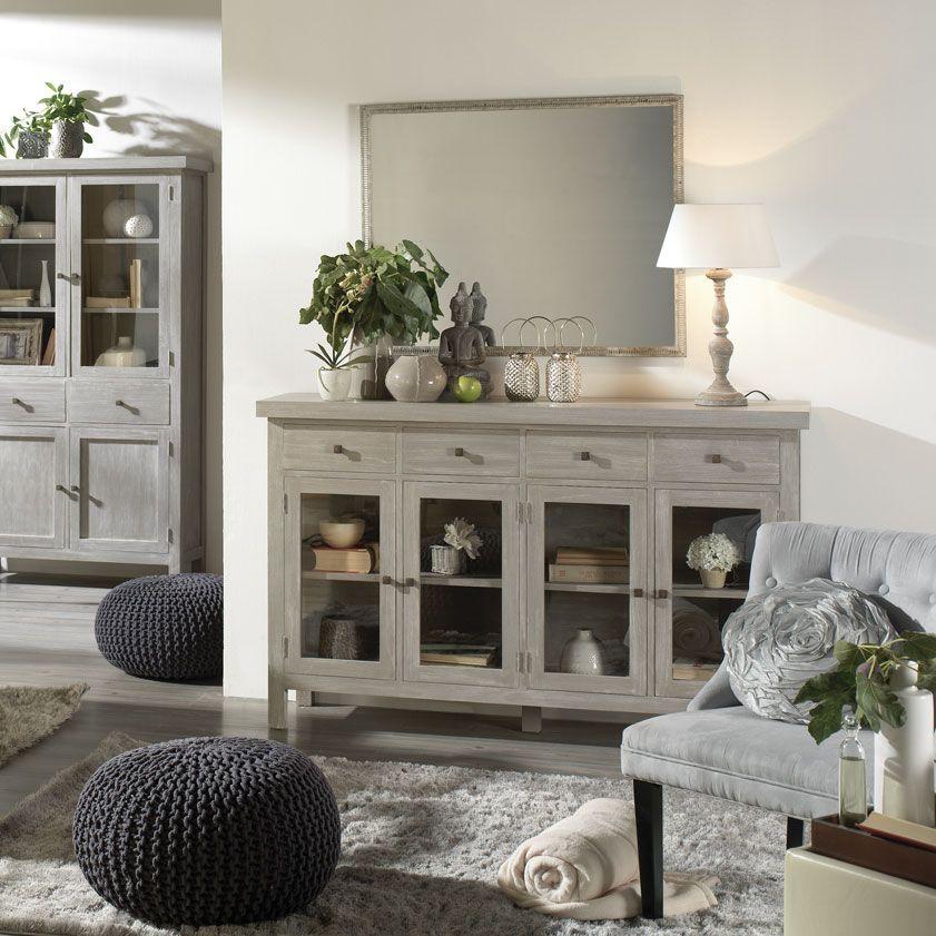Tael aparador greys kitchen sideboard home decor y for Muebles estilo banak
