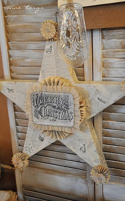 Gorgeous paper Christmas star