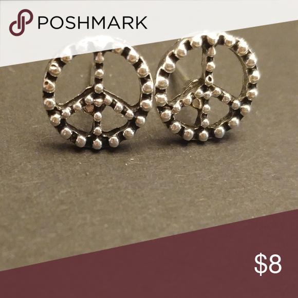 Download 3 for $15 Peace Stud Earrings Boutique | Fashion earrings ...
