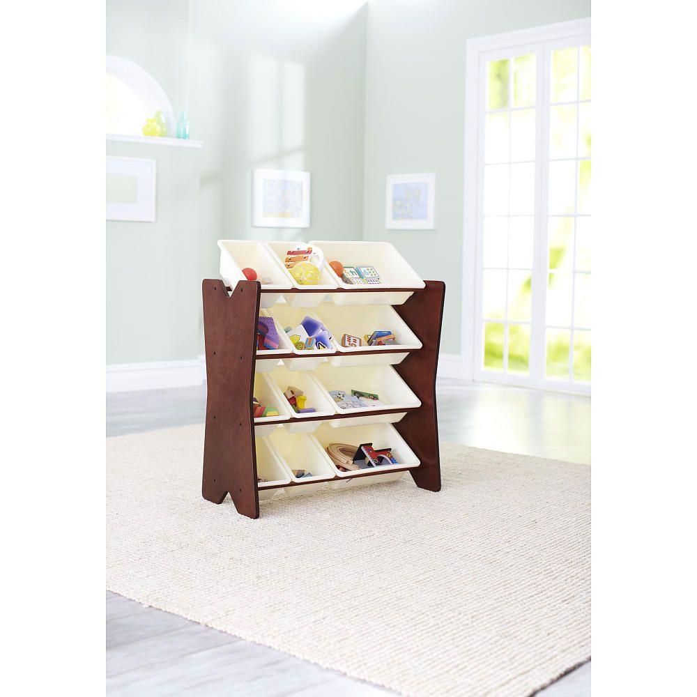Crib organizer babies r us - Imaginarium Storage Organizer With Bins Espresso Imaginarium Babies R Us