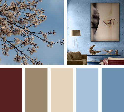 Paz Calma Y Tranquilidad Son Emociones Que Derivan De Esta Paleta De Colores Espacio Via Carta De Colores Pintura Paletas De Colores Paleta De Colores Azul