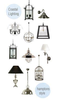 hampton style lighting - Google Search