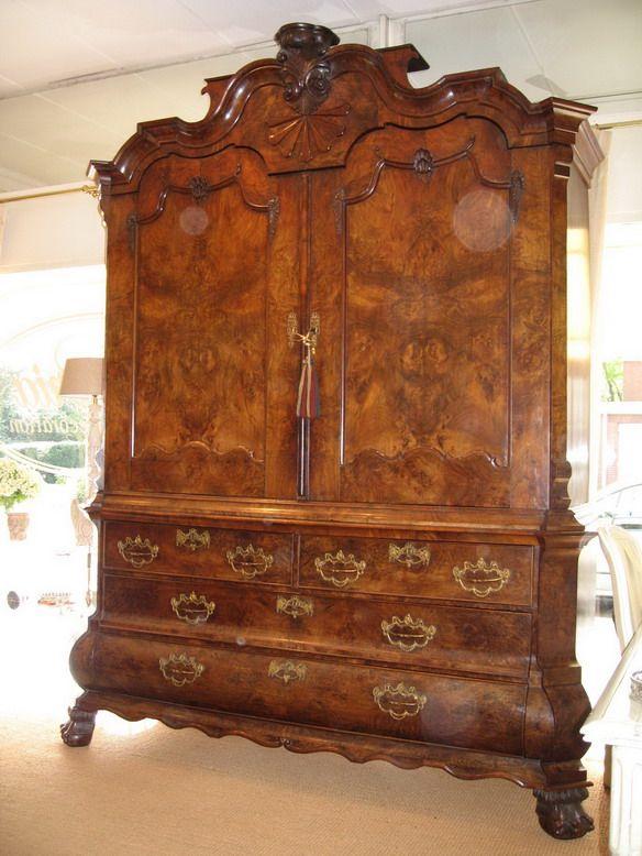 Antieke Kast Klaziek 1800 Eeuw Antique Furniture European Furniture Antiques