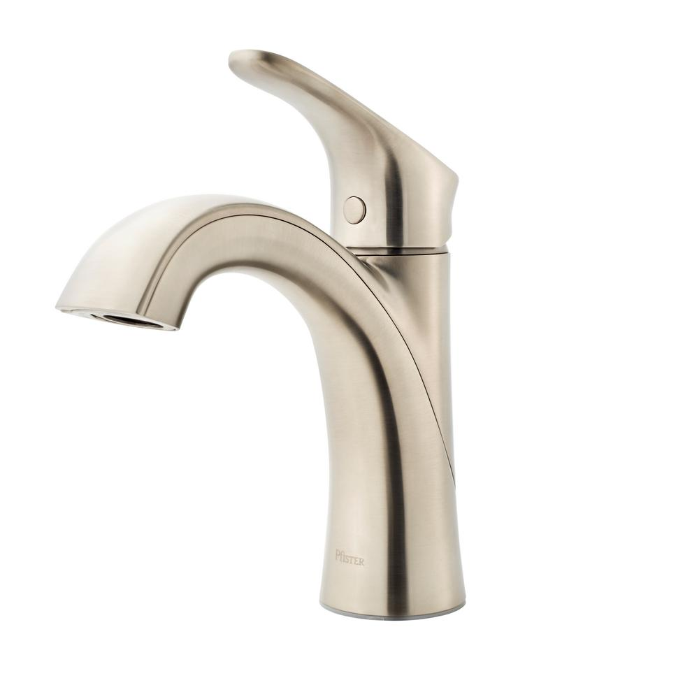 Pfister Weller Single Hole Single Handle Bathroom Faucet In Single Handle Bathroom Faucet Pfister Bathroom Faucets [ 1000 x 1000 Pixel ]