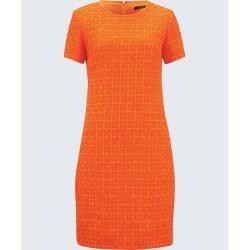 Etui-Kleid in Orange windsorwindsor #royalicingrecipe Etui-Kleid in Orange winds…