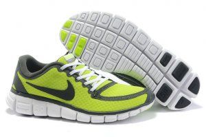 low priced b595f 68311 2012 Nike Free Run 5.0 V5 Men Shoes Green Grey | Nike Free ...