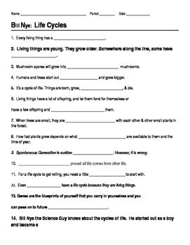 This 14 question worksheet provides a way for students to follow ...