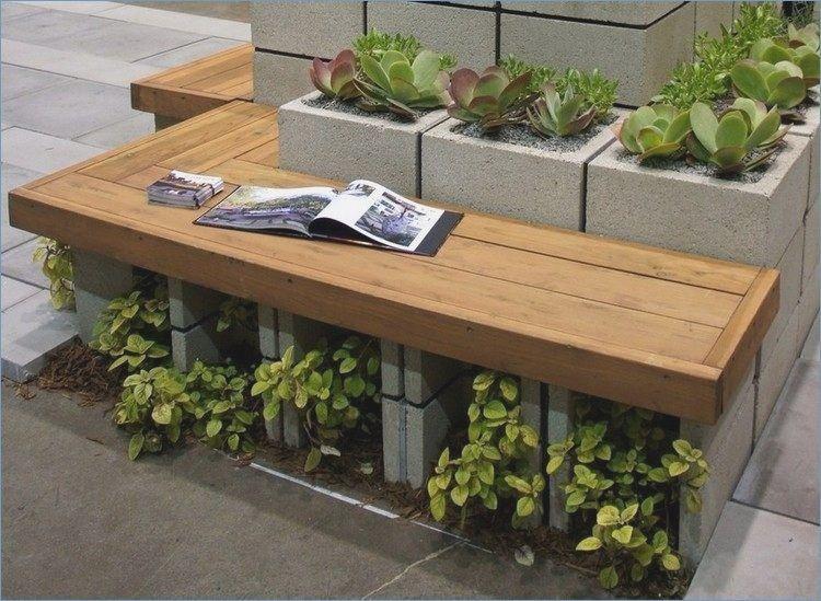 Outdoor Benches Concrete Garden Bench Wooden Garden 640 x 480