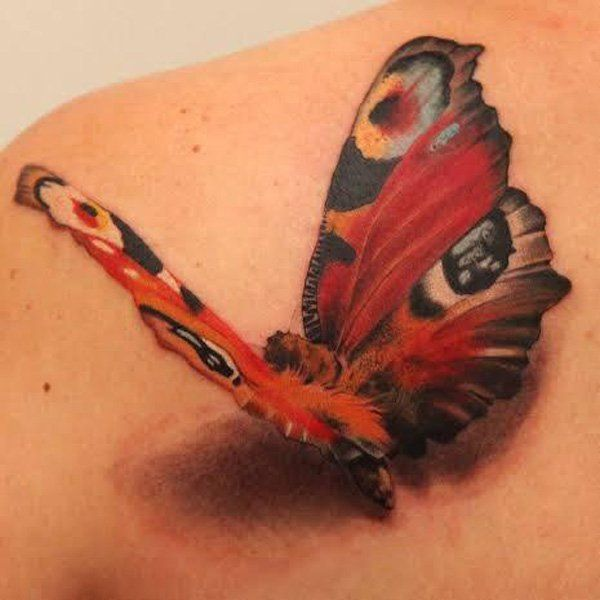Photo of 45+ incredible 3D butterfly tattoos – tattoo designs