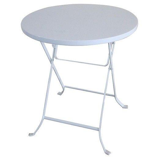 24 Metal Folding Table White Threshold Target Folding