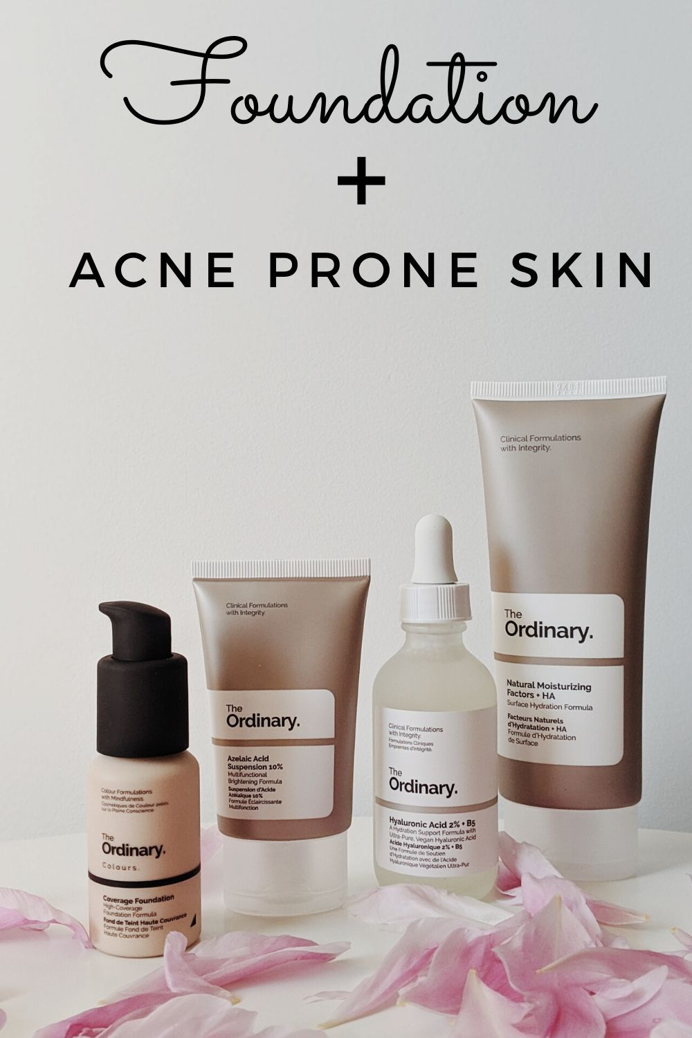 What to know about foundation and acne prone skin! in 2020