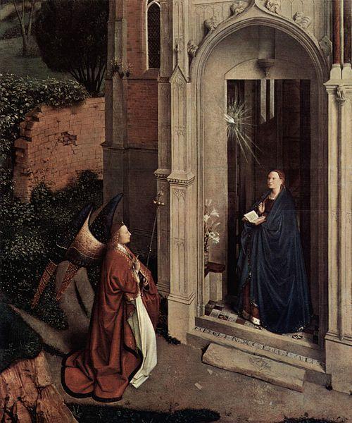 Petrus Christus Renaissance Paintings Jan Van Eyck Annunciation
