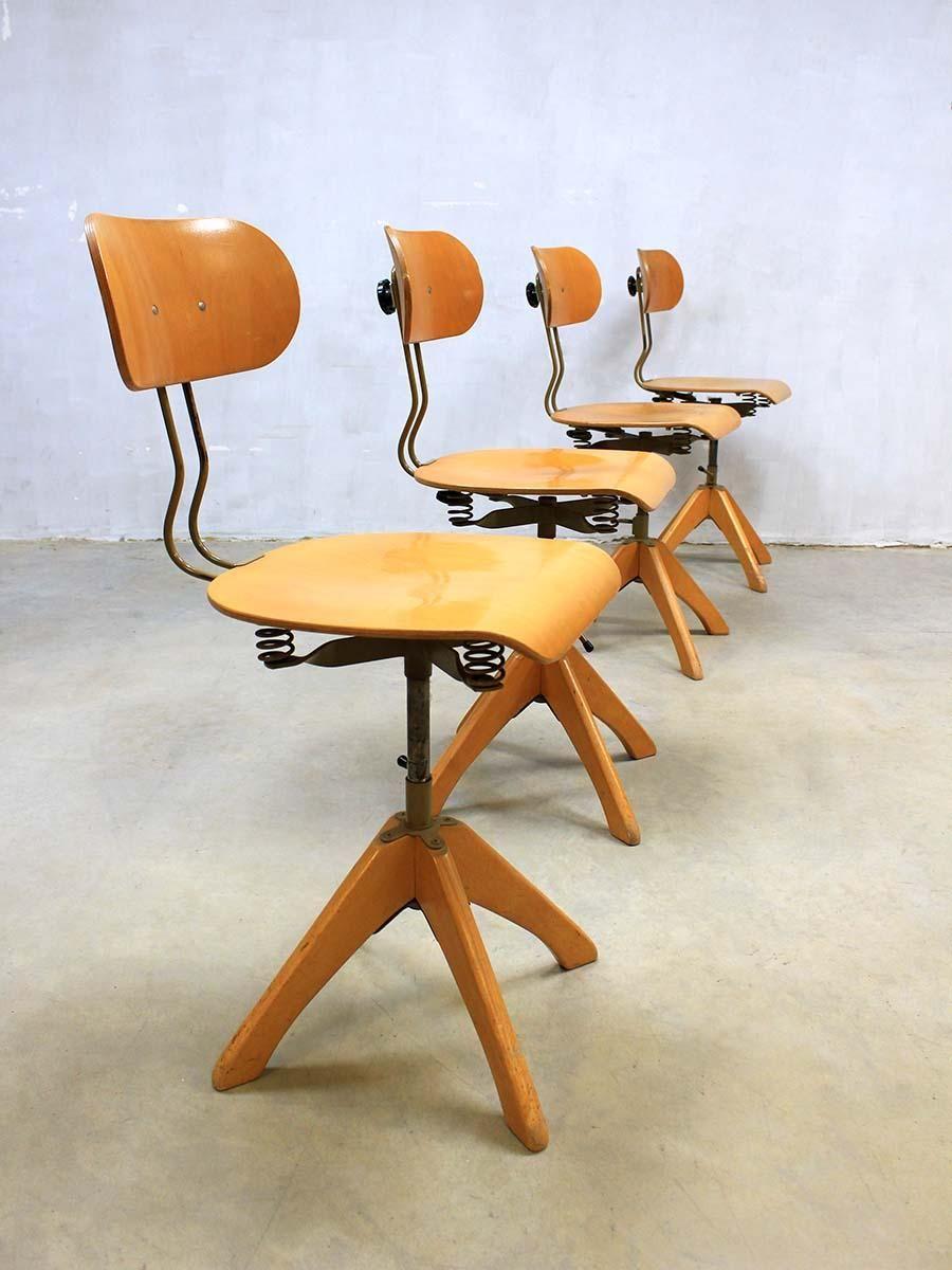 Industrial Chair By Margarete Kl Ber For Polstergleich 1930s 2  # Muebles Laura Elda
