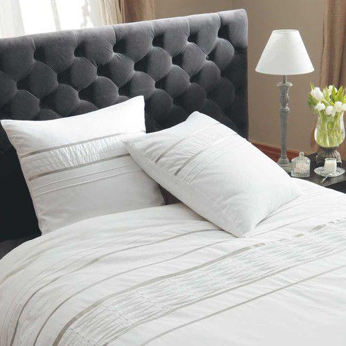 parure housse de couette 260x240 affordable parure de lit. Black Bedroom Furniture Sets. Home Design Ideas