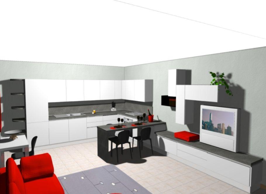Soggiorno Bicolore ~ Veneta cucine con zona soggiorno cucine domus arredi pinterest