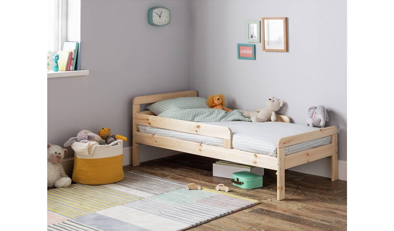 Buy Argos Home Ellis Toddler Bed - Pine | Kids beds ...