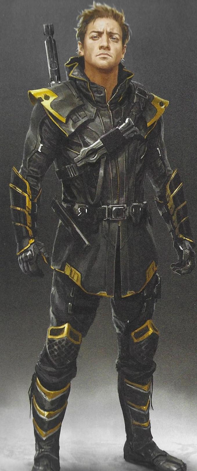 Avengers Endgame Concept Art Reveals Alternate Five Years Later Hawkeye Ronin And Black Widow Co Marvel Concept Art Marvel Characters Art Superhero Design