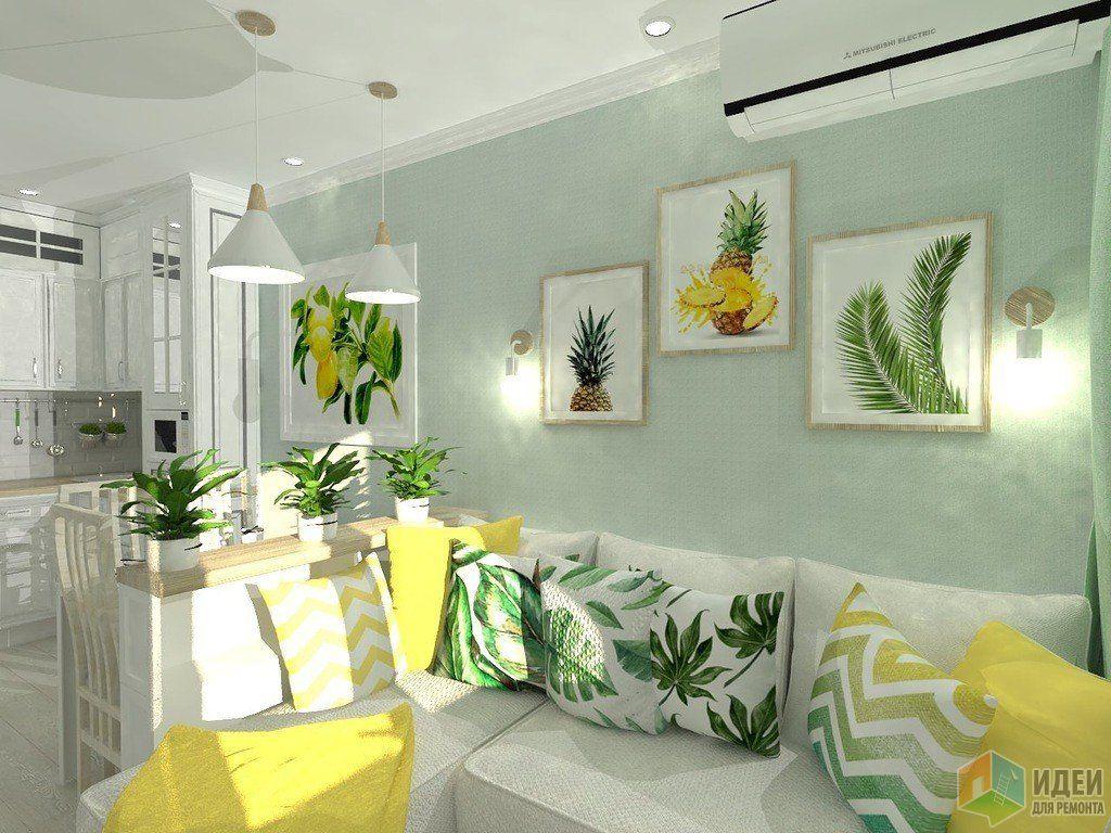 Кухня-гостиная на 15,5 кв. метров. Постепенное ...