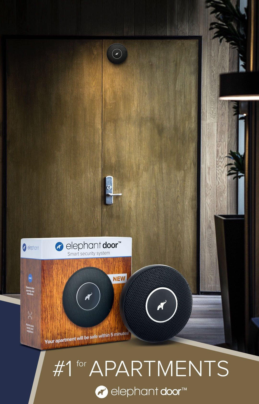 Design your apartment with New Safety👌 Elephant Door #1 super-alarm ...