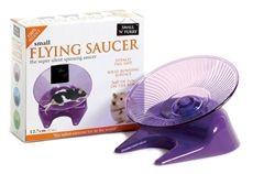 Flying Saucer. Tefatshjul till hamster.