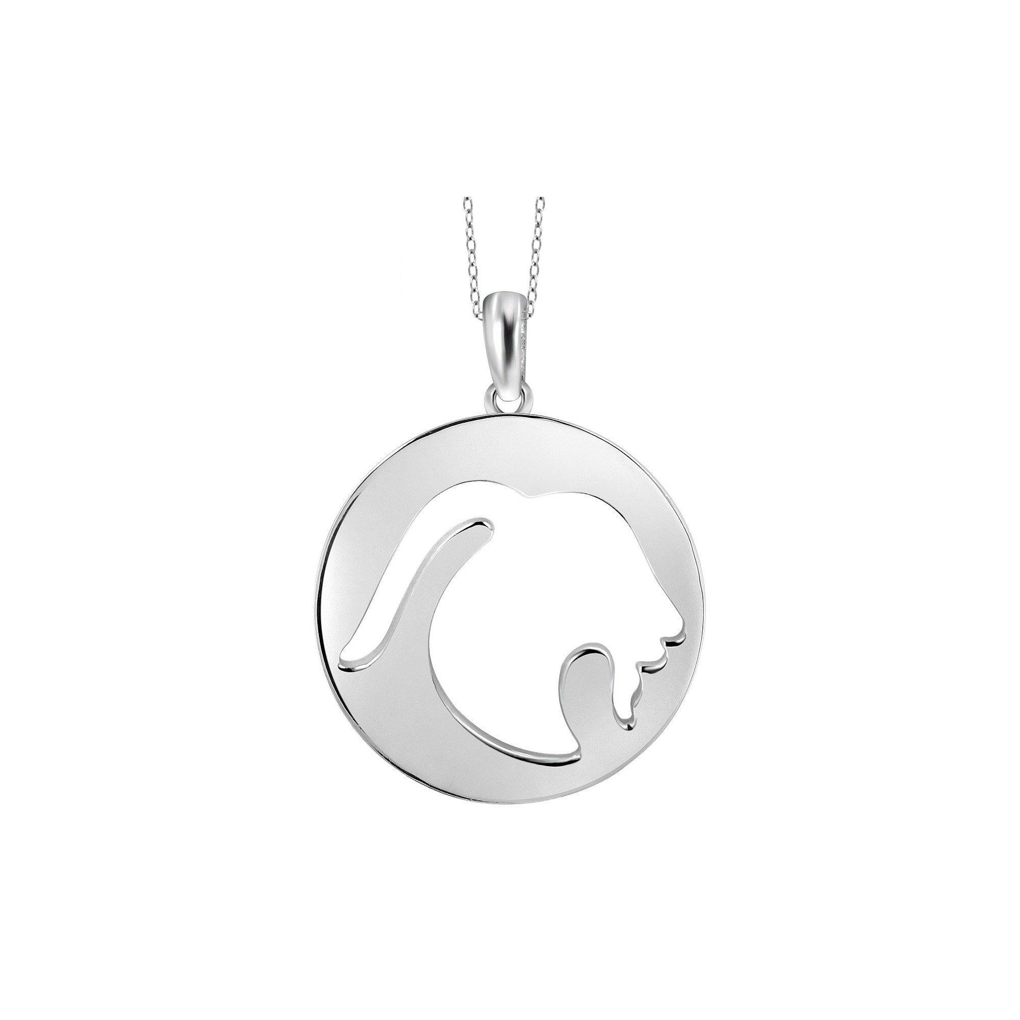 Capricorn zodiac pendant necklace girlus white products