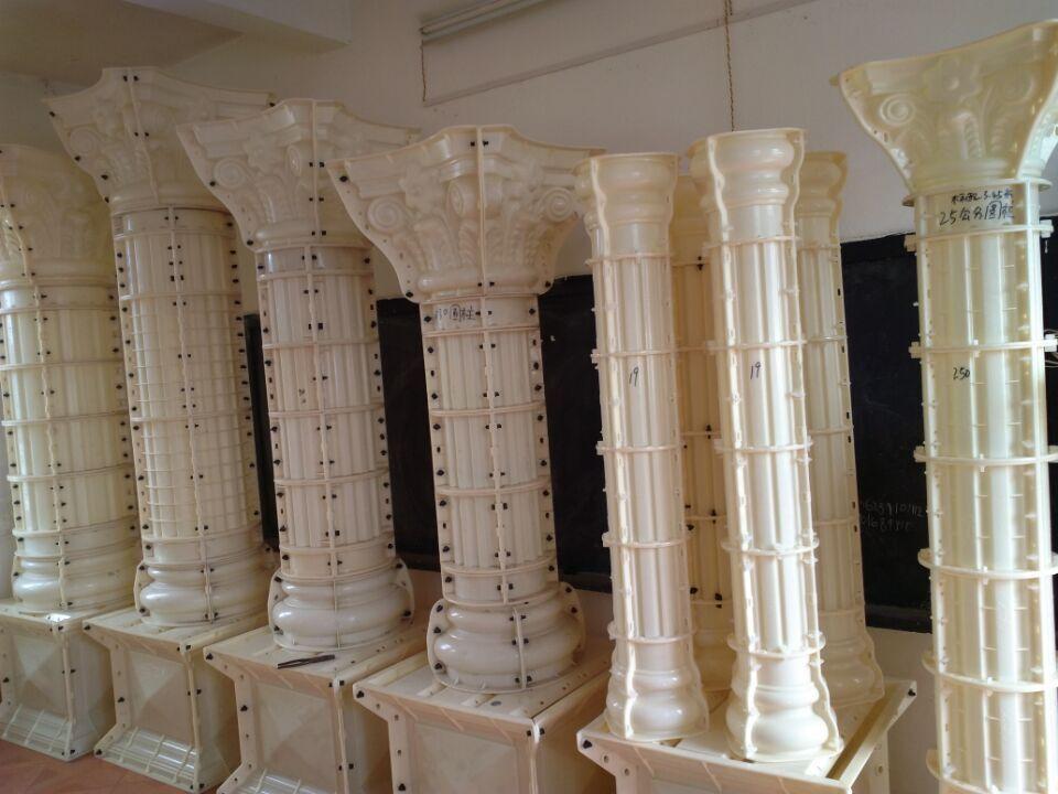 Romano Decorativo Moldes De Columnas De Pilares De Hormigon Para La Venta Imagen Moldes Identificacion Del Pr Concrete Molds Pillar Design Classic House Design
