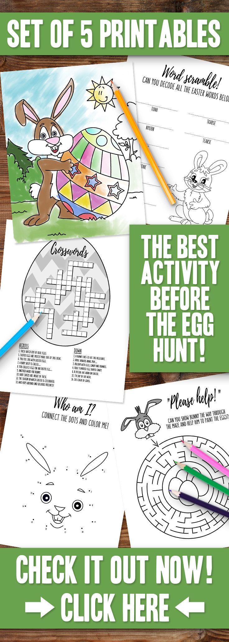 Easter Coloring Pages Printable Activity Easter Word Search ...