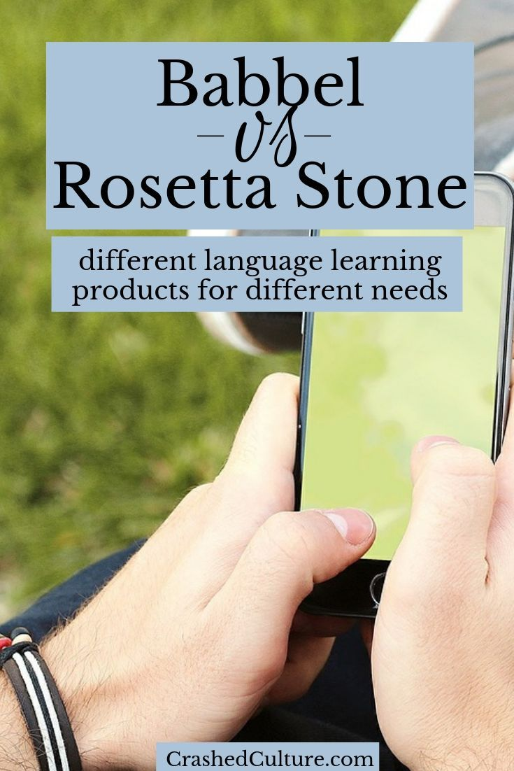Babbel vs Rosetta Stone Know What You Need Learn a new