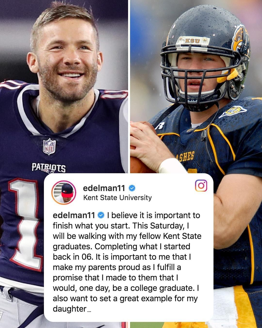 Image May Contain 1 Person Football And Text Kent Sports Memes Julian Edelman