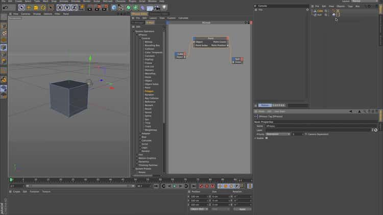 Cinema 4D Xpresso+Python Training // Object/Object Index/Point