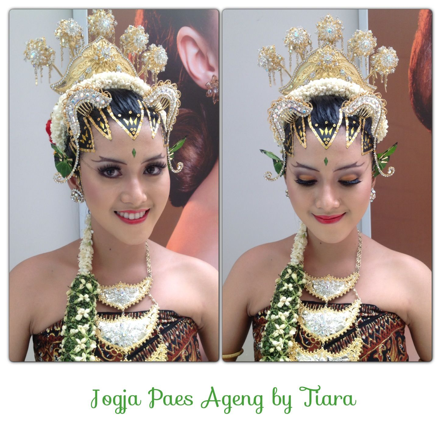 Traditional Indonesian Wedding Makeup : Indonesian traditional bride called Jogja Paes Ageng # ...