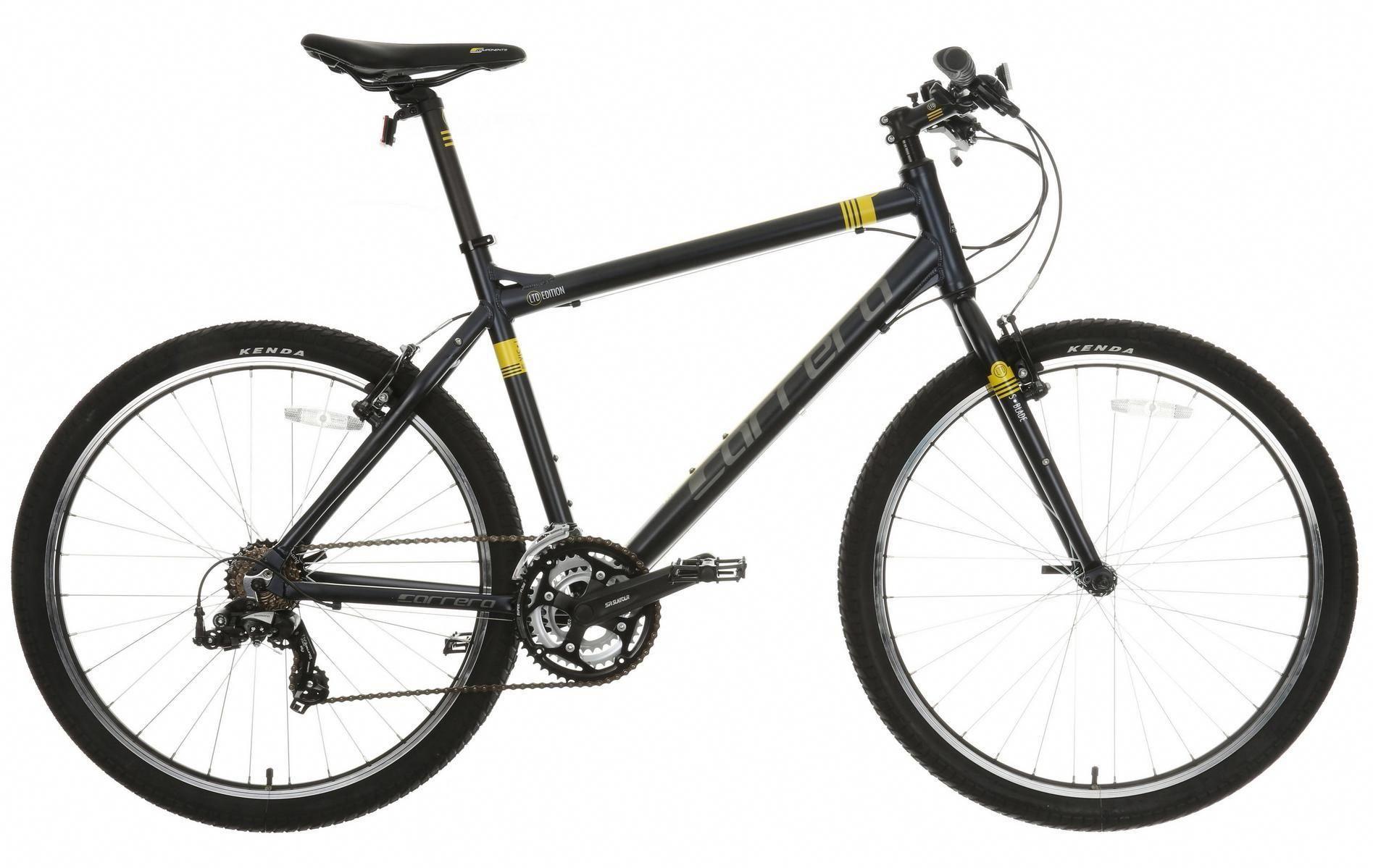 Carrera Parva Mens Hybrid Bike Hybridbike Bike Classic Bikes Bicycle