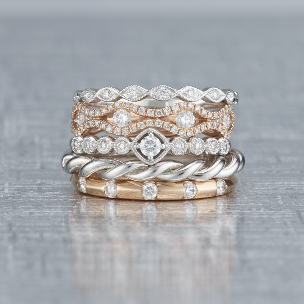 We Just Cant Get Over The Beauty Of These Stackable Rings