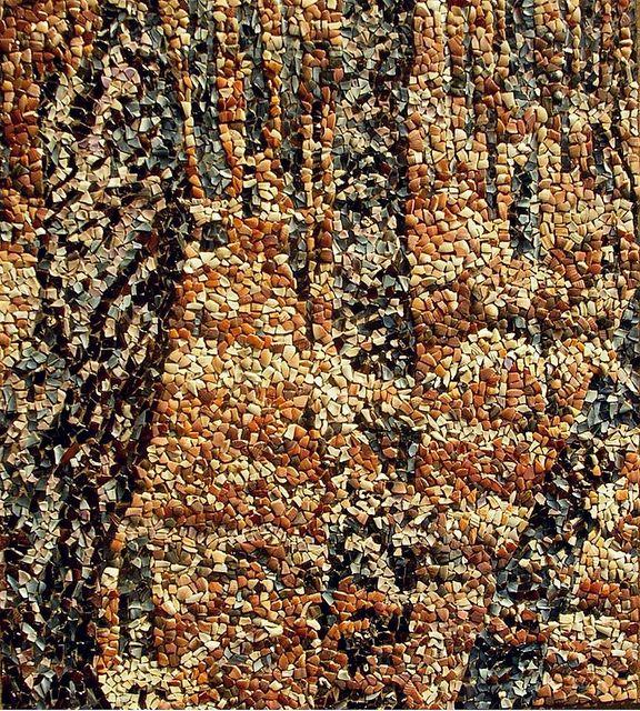 """mosaico- """"113 Bosque IV"""" (20-12-2011) (60 x 70cm.) by Alberto Gonzalez Alvarez, via Flickr"""