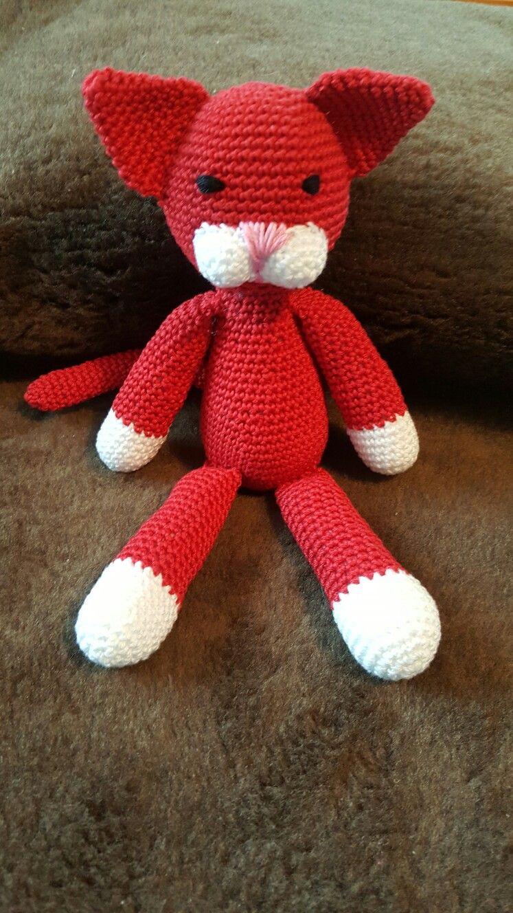 Katze red