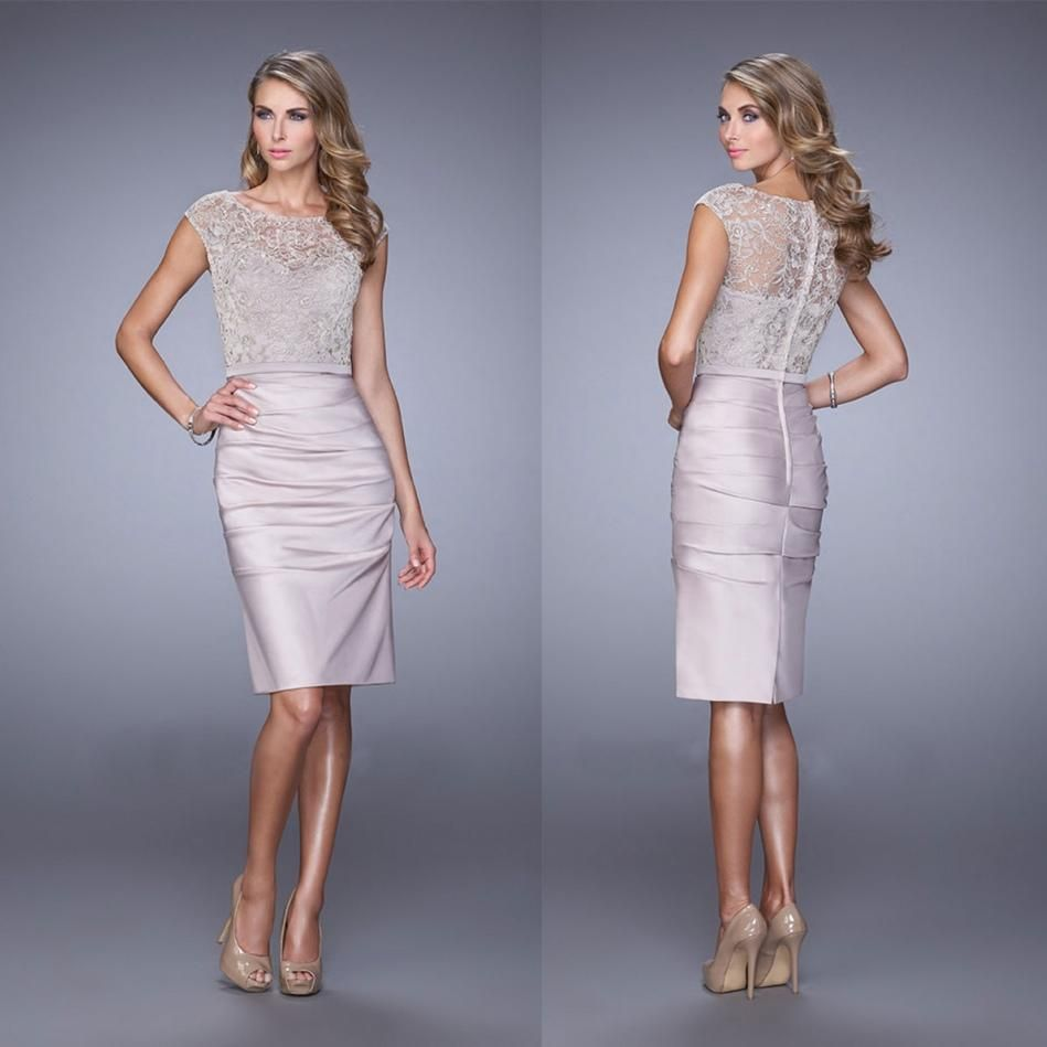 New Arrival 2015 Sheer Neck Chiffon Top Lace Bridesmaid