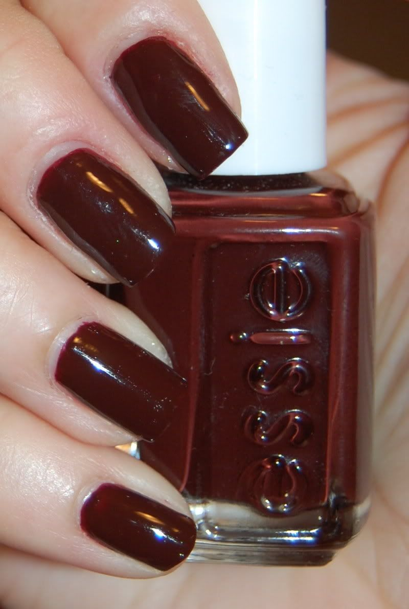 Essie Chocolate Kisses...great oxblood for fall! | Hair, Face ...