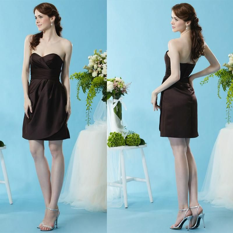 Cheap Brown Bridesmaid Dresses Under 50